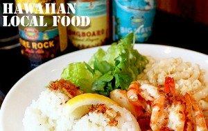 HAWAIIAN Local Food MAHALOHA